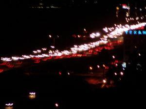 Photo: Blurry 610 Loop at I-10