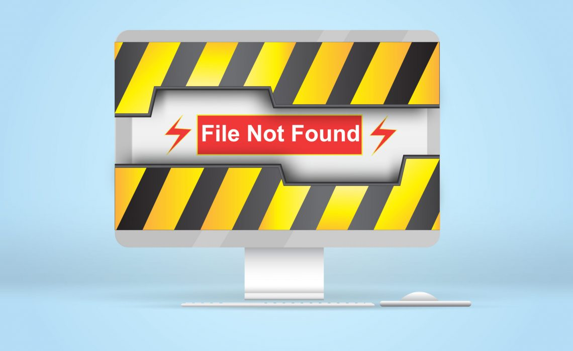 Graphic: File Not Found